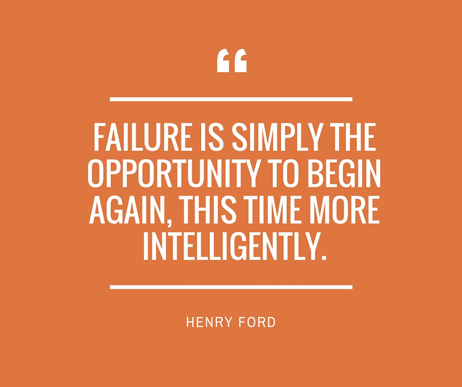 Inspirational Quotes About Failure: FAILURE: Just An Opportunity To Do Better Next Time