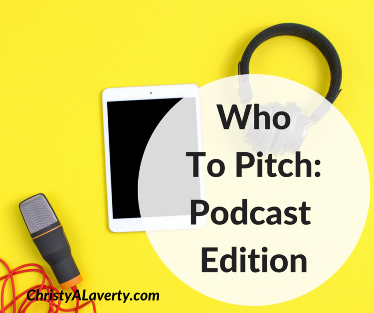 How to pitch podcasts